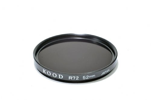 Kood High Quality R720  Infrared Special Effects Filter 52mm Made in Japan